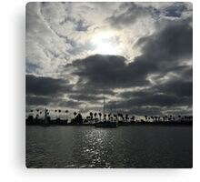 San Diego Sunset 1 Canvas Print