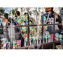 Lollypops and Jelly Beans Photographic Print
