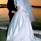 Kelly and Julie - a wedding in the sunset by georgieboy98