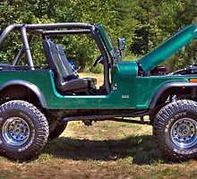 Mean and Green Jeep by David Owens