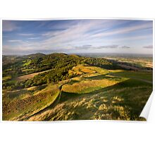 The Malvern Hills : British Camp Poster