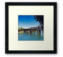 Sac River Framed Print