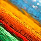 Rainbow blur by catrionam