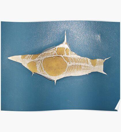 submarine shark sit Poster