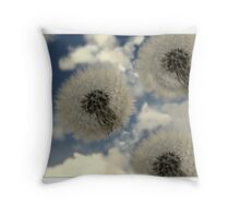 Spring Whimsy Throw Pillow