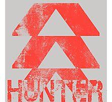 Destiny Hunter grunge Photographic Print