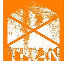 Destiny Titan grunge Photographic Print