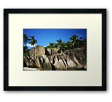 La Digue (Seychelles) Framed Print