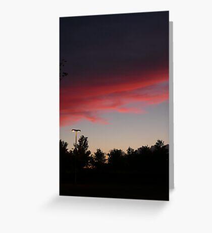 Hermiston Sunset Greeting Card