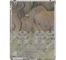 Roses and lace iPad Case/Skin