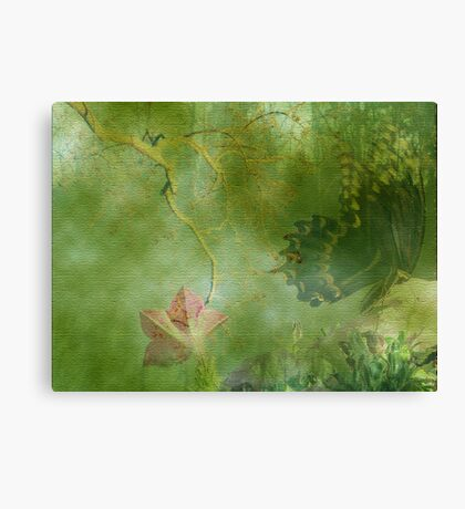Painterly Butterfly Canvas Print