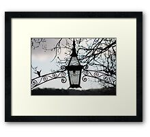 Lantern of Sorrow - Port Arthur, Tasmania Framed Print