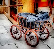 Antique Dolls' Pram by Karen Martin