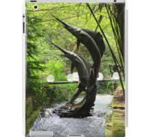 Swordfish sculpture iPad Case/Skin