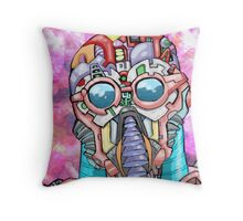 Bot Game Throw Pillow