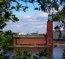 City Hall in Stockholm by Helen Shippey