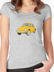 VDUB bug Women's Fitted Scoop T-Shirt