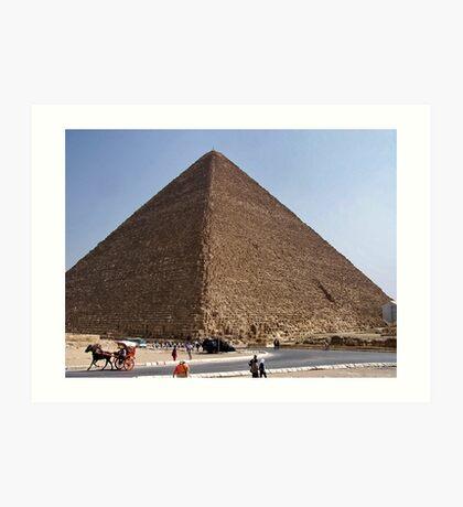 Pyramid of Khufu/Egypt Art Print