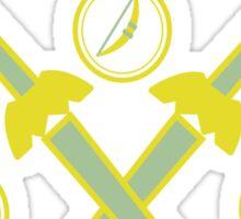 Winged Triforce Sticker
