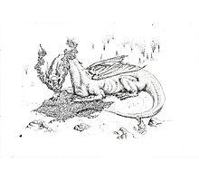 The Dragon Photographic Print