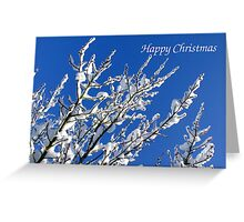 Snowy Branches - Christmas Card Greeting Card