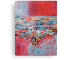 Cool sea in the heat of summer Canvas Print