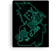 Cloud Strife ex-SOLDIER | Mako Edition Canvas Print