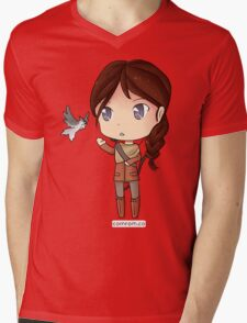 Katniss Everdeen Chibi by KlockworkKat T-Shirt