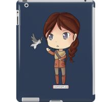 Katniss Everdeen Chibi by KlockworkKat iPad Case/Skin