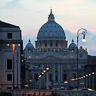 San Pietro di Notte, Roma/Italia by hjaynefoster