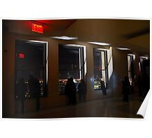 Observation Deck, Top of The Rock, New York Poster