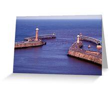 Haunted Lighthouse. Greeting Card