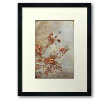 Love Is In Bloom Framed Print