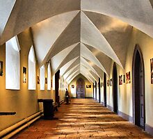 The Monks Dormitory by Clive
