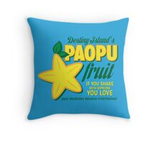 Paopu Fruit - Kingdom Hearts Throw Pillow