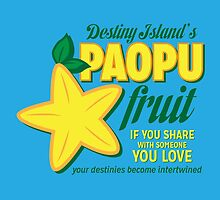 Paopu Fruit - Kingdom Hearts by Daniela Walker Reed