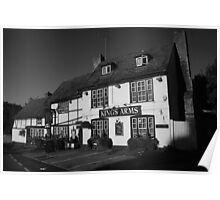 Kings Arms Boxley Poster