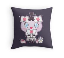 Gothita and Litwick's Party Throw Pillow