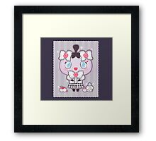 Gothita and Litwick's Party Framed Print