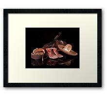 Mexican Bandit Framed Print