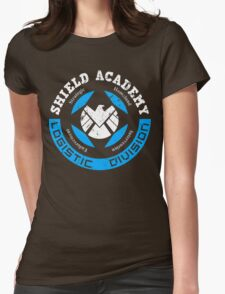 S.H.I.E.L.D. Academy (BLACK) Womens Fitted T-Shirt