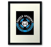 S.H.I.E.L.D. Academy (BLACK) Framed Print