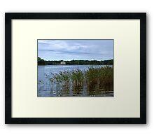 Lake Galve Framed Print