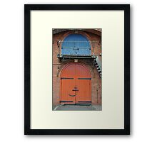 Upstairs Downstairs Framed Print
