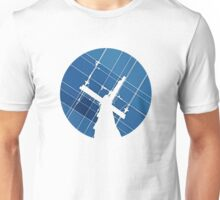 Blue Wires Overhead  Unisex T-Shirt