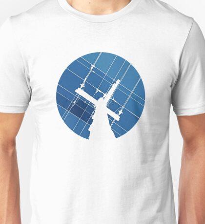 Blue Wires Overhead  Unisex T-Shirt