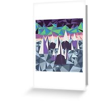 Arctic Mountains Greeting Card