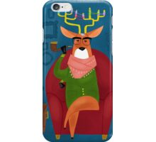 Hipster Deer iPhone Case/Skin