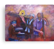 Jazz Men Canvas Print