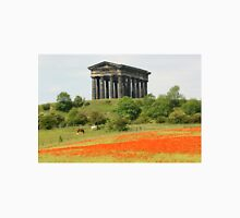Poppies at Penshaw Monument, County Durham Unisex T-Shirt